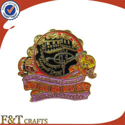 Criador de monograma personalizado emblema logotipo personalizado Segurança Emblema de Metal