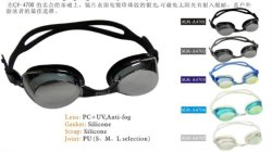 Occhiali di protezione di nuotata del silicone (MM-A4700)