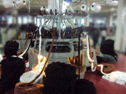 Antigua peletería artificial computarizado de Jacquard tricotosa circular