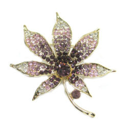 Nuovo design Fashion Flower Metal Brooch