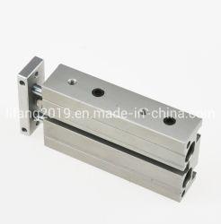 Cxsm32-75/100/125/150/175/200/250/300 двойного хода штока цилиндра, общие мини воздуха поршень стандартного цилиндра для автоматического оборудования, пневматический двойной шток цилиндра