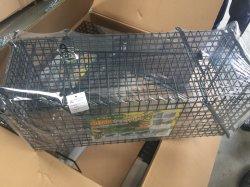 La lutte antiparasitaire d'animaux vivants en métal galvanisé Catcher Souris Rat Cage sans cruauté piège / la capture de cage de la souris