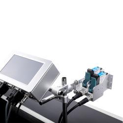 La foi sur le fil de l'imprimante de marqueur pour l'usine et la date de la machine d'estampillage