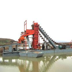 سعة القدرة الكهربائية 60 م3/ساعة عمق الحفر 7 أمتار التعدين بالذهب ومعدات الماس للذهب والماس