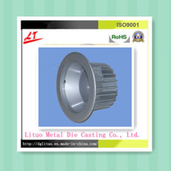 Personalizar as ligas de alumínio LED sombra com revestimento de Pulverização