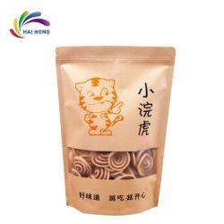 Commerce de gros 250g 500g 1kg Bloc bas sac de café en papier kraft