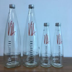 750ml de Fles van /Spirits van de Fles van het Glas van geesten
