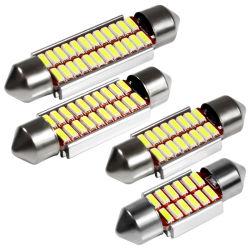Slinger 31mm 36mm 39mm 42mm het Stileren van de Auto van de Lamp van het Noodlot van LEIDENE Fout 4014 SMD Canbus van de Bol C5w C10W Super Helder Vrij Auto Binnenlands Licht