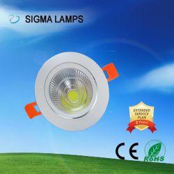 Residencial Sigma AC 110V, 220V 3W 5W 7W 9W 12W 15W 20W 24W falso ponto de sabugo Lâmpada LED da lâmpada para baixo