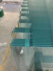 6mm 8mm 10mm Raum-Polierflaches ausgeglichenes Kantenschleifhartglas für Glaszaun-freistehende Wand-Dusche-Raum-Glaswand