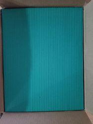 Popular al por mayor de 40 a 50 grados verde elástico alto adhesivo Troquelado 8x300x380mm Expulsión de espuma de goma EVA en stock