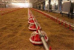 Casa de fazenda de frango a Linha do Alojamento do Alimentador de Rotação Horizontal Automática de frangos de corte de preços do sem-fim de alimentação Alimentação Reprodutores Avicultura do Sistema da Máquina