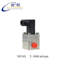 Todo o material de aço inoxidável água líquida Micro Engrenagem Oval Fluxômetro