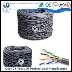 Red de Ventas caliente Cat 8 cable 24AWG/Cat5 Cat5e/CAT6 CAT7 ///STP UTP/FTP/SFTP para sistema de red