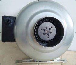 Circulaire conduit en ligne avec une base de ventilateur