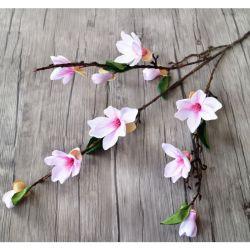 Decorazione di seta di arte di modo di cerimonia nuziale della magnolia di Stcik del fiore dell'orchidea artificiale