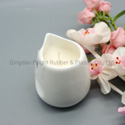 Hechos a mano sin Flama perfumada de cera de soja las velas de masaje los envases de cerámica