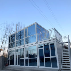 مكتب كابينة بورتا المؤقت من طابقين لموقع البناء