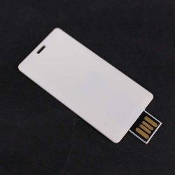 Ultra dünne Karten-Form personifizierte wasserdichtes Plastikfarben-Drucken-Geschenk USB-Blitz-Laufwerk USB-Feder-Laufwerk