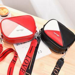 새로운 소형 가방 여성 광대역 카메라 백 다목적 크로스 바디 패션 컬러 충돌 숄더 암 백