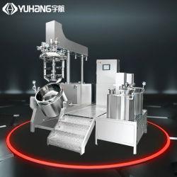 50L pequena fábrica Mannufacturer marcação ISO homogeneizador de cosméticos de vácuo Mixer, Homogeneizador Creme Planta de emulsão de máquina