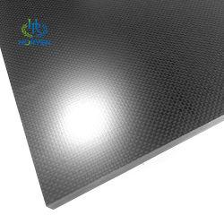 Fibra de carbono más fuertes de la placa de compuestos reforzados con precio inferior