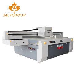 Printer van Inkjet van Bed 2513 van het grote Formaat de UV Flatbed Vlakke met Goede Kwaliteit