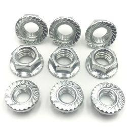 Stock Carbon Steel Zinc Galvanized 육각 Slotted Nuts 공장