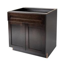 De Vervaardiging van het meubilair maakt de Stevige Houten Gootsteen van de Ijdelheid van de Badkamers Kabinetten baseren