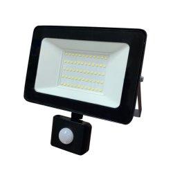 50W IP65 LED-schijnwerper/buitenverlichting tuinparken/LED-schijnwerpers met PIR-montiesensor