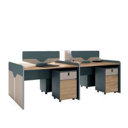 Шкаф управления Moodern Call Center деревянные Модульная мебель коммерческих раздел Компьютер таблицы регистрации офисной рабочей станции