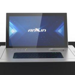 AnxinのLCDのモニタの上のペーパーレスの会議システム情報処理機能をもったモーターを備えられたフリップ