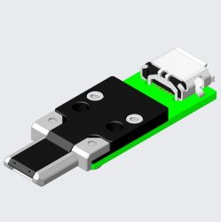 변경 플러그를 가진 여성 시험 잭을%s 마이크로 USB