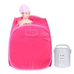 Preço grossista cores completa família de uma pessoa Portable Mini-Sauna a vapor banheiro para uma pessoa