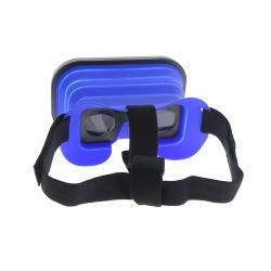 Os homens de silicone mulheres portátil Dobrável Caixa Vr a Realidade Virtual 3D óculos de filme para iPhone e Android Market Phone