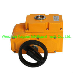 Elektrisch aangedreven actuator op handwiel met aan-uit-uitvoering
