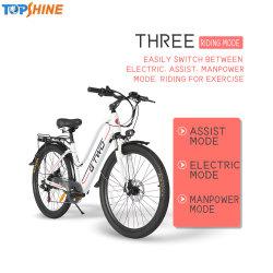 Neuestes 24 elektrisches Fahrrad des Zoll-36V/Stadt-Fahrrad-schwanzloser Motor mit eingebautem GPS-Chip