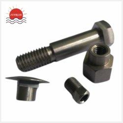 مكونات تصنيع ماكينات الدلفين التيتانيوم CNC