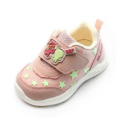 Ademend, mooi ogende zachte bodem voor kinderen Casual leren schoenen voor meisjes Babyschoenen voor peuters