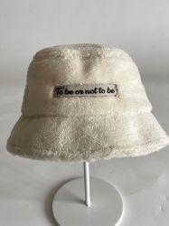 ホッキョクフリースバレルハットウィンターファッション屋外温水レジャーハット 屋外の方法帽子の注文