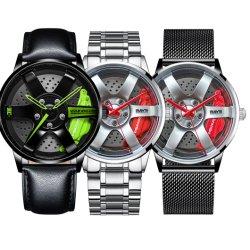 スポーツOEMのバランスのカスタム3D合金車の縁のロゴの車輪の腕時計を回す二重Te37 BMW Mag