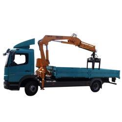 Lança Hidráulica Brick Grab Crane Truck para bloquear