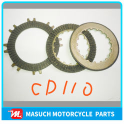 Pièces de moto Moto de la plaque d'embrayage pour CD110