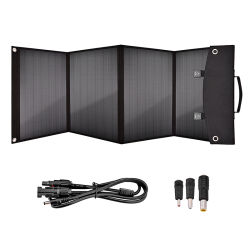 Original de fábrica plegable 100W DC Panel Solar Portátil USB Banco de potencia de la estación de Energía Solar cargador solar cargador de teléfono bolsa