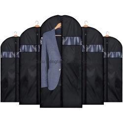 420d poliéster Oxford Tecido lavável vestuário de viagem dobráveis prensa para cobrir Saco com fecho de correr