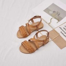 2020 نمو فصل صيف خف [ببي شو] خف جدي يحاك أحذية لأنّ بنات