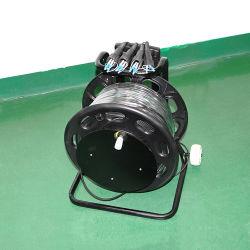 Мобильные портативные металлического троса привода мотовила для поражения легкобронированных военных тактических оптоволоконный кабель
