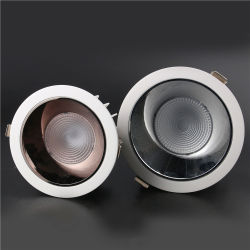 Nuevo LED Downlight Die-Casting Anti-Dazzle Shell integrado Kit de linterna Sky