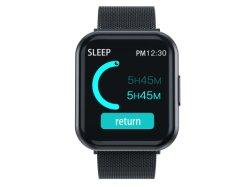 2020 heißen verkaufenuhr-Mailands Silk Smartwatch Schwarzes