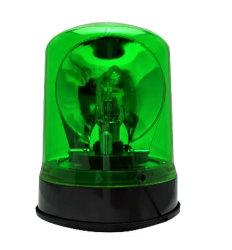 Indicatore luminoso d'avvertimento verde per l'indicatore luminoso istantaneo girante resistente del falò